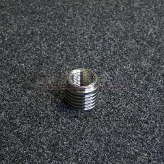 Ruostumaton hitsattava lambda-anturin kiinnitysholkki, M18x1.5