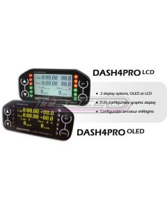 Race Technology Dash4 Pro näyttö